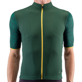 Isadore Climbers Angliru 2.0 Maillot à manches courtes Homme, green/yellow